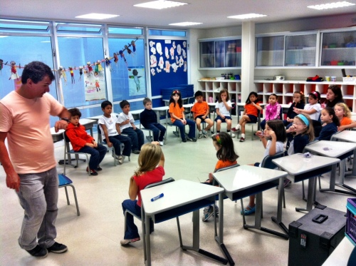 year 1 aula de música